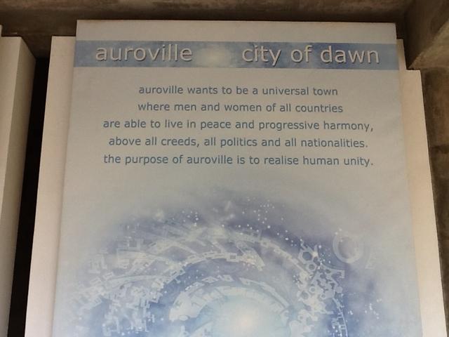 Auroville - utopijna wioska. Foto: D. Jaworska