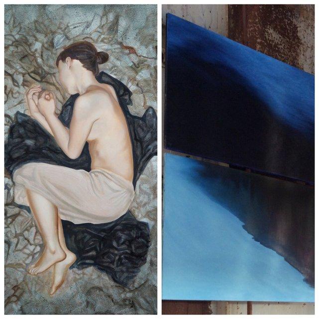 Dilemma - obrazy malarek klaudia Ka i Karolina Jarosławska