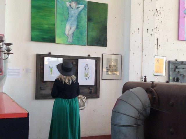 """Wernisaż wystawy """"Dilemma"""", Straubing, Niemcy•foto: D. Jaworska"""
