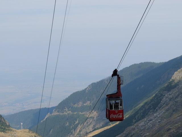 Góry Fogaraskie, widok z Trasy Transfogaraskiej, Rumunia.• foto: D. Jaworska