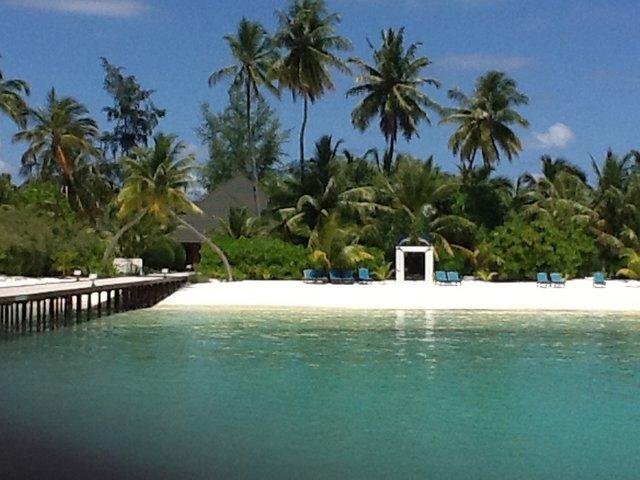 Herrathera Resort, Malediwy. Foto: D. Jaworska