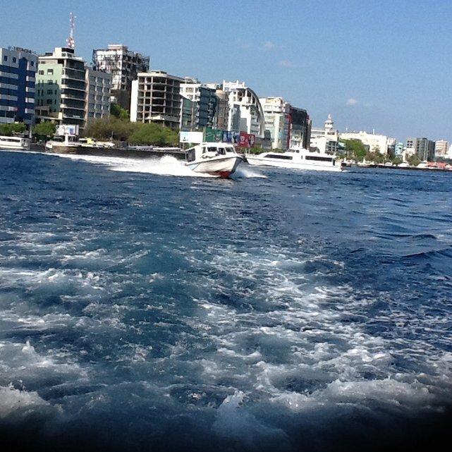 Male, najmniejsza stolica świata. Republika Malediwów.•Foto:D. Jaworska