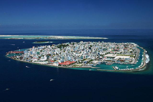 Male, Malediwy, raj, wyspy