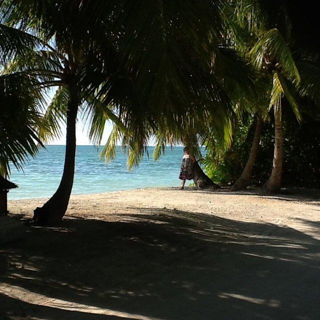 Malediwy, wyspa na Addu Atol•Foto: P. Jaworski
