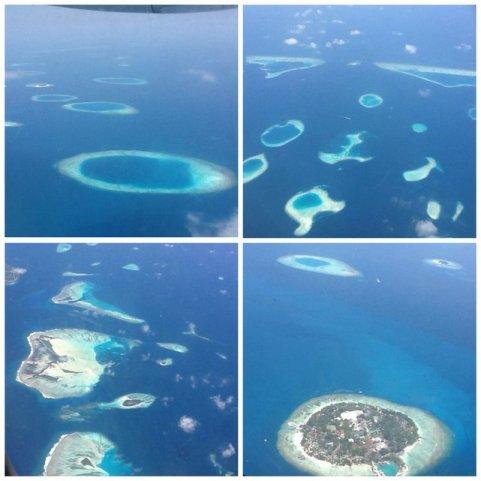Malediwy, wyspy, Morze Arabskie