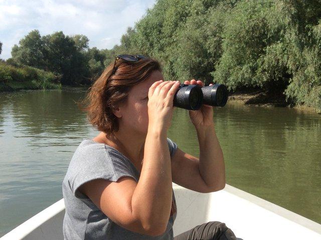 Oglądanie ptaków w Delcie Dunaju. Foto: D. Jaworska