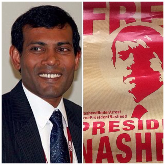 Prezydent Mohamed Nasheed•Wikipedia