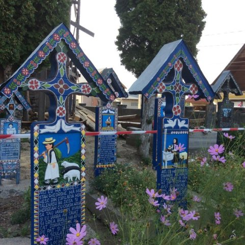 Wesoły Cmentarz w Sapancie, Rumunia•Foto: D. Jaworska