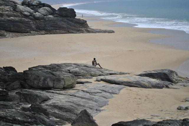 Wybrzeże Morza Arabskiego, okolice Vizhinjam i Kovalam, Indie•foto: D. Jaworska