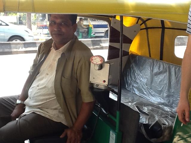 Rikszarz z Bangalore. Indie. Foto: D. Jaworska