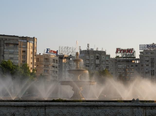 Bukareszt, Piata Uniri•foto: P.Jaworski