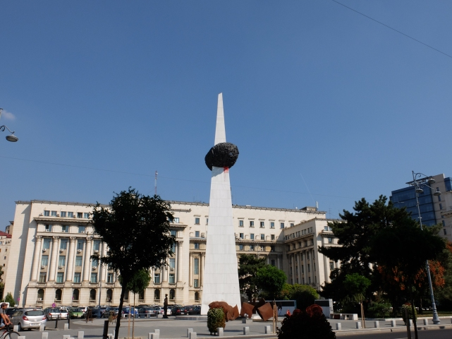 Pomnik Odrodzenia. Bukareszt•foto: D. Jaworska