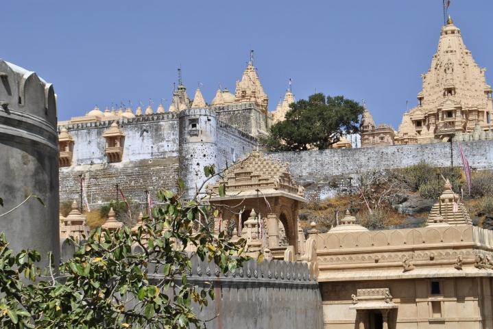 Shatrunjaya Temple, świątynia dżinijska w Palitana, stan Gurajat, Indie•Foto: D. Jaworska