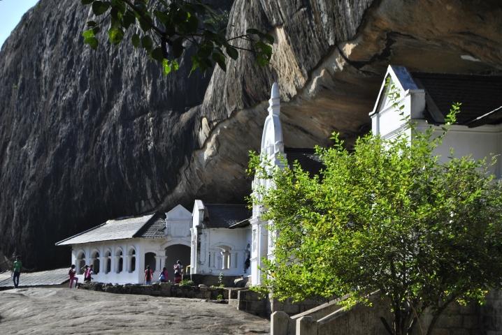 Świątynia w Dambulla, Sri Lanka•Foto: D. Jaworska