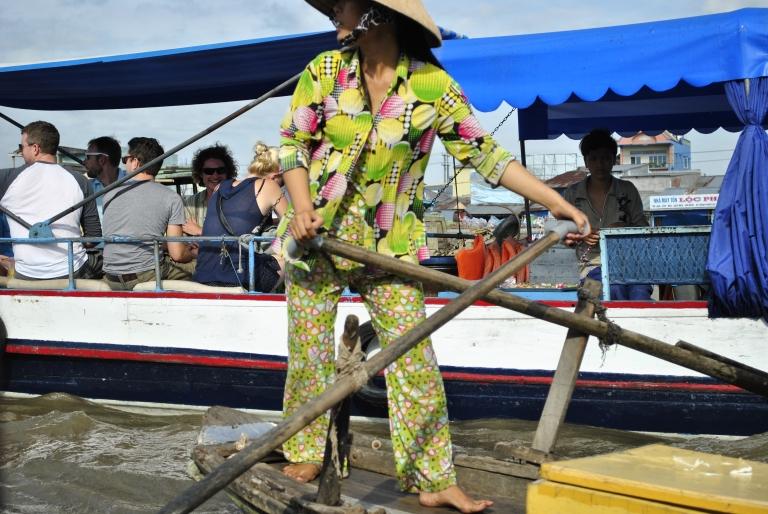 Delta Mekongu. Wietnam. Foto: D. Jaworska