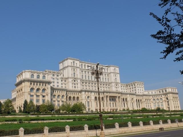 Bukareszt, Dom Ludu•foto: P. Jaworski