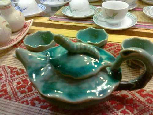 Zestaw do herbaty. Foto: D. Jaworska