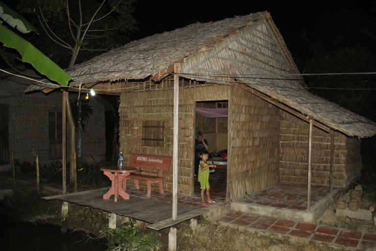 Chata dla turystów w Delcie Mekongu. Wietnam. Foto: D. Jaworska