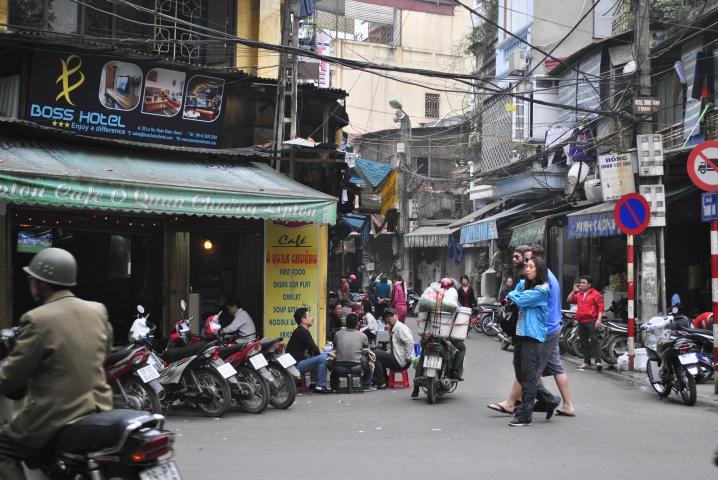 Hanoi - znikające bary uliczne. Wietnam. Foto: D. Jaworska