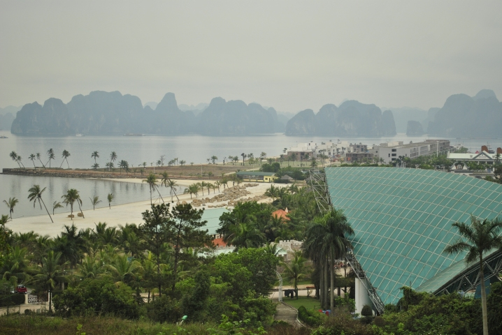 Przebudowa wyspy Tuan Chau. wietnam. Foto: D. Jaworska