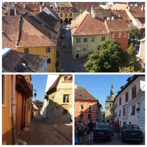 Sighnisoara - miasto w Transylwanii z przepiękną średniowieczną starówką, uznawaną za jedną z piękniejszych w Europie. To w tymmieście urodził się Vlad Palownik.•Foto: D. Jaworska