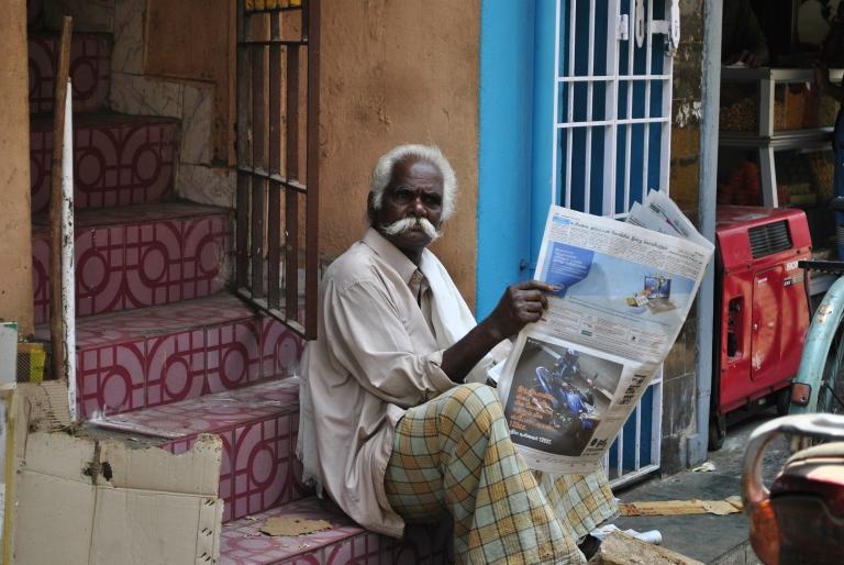 Szczęśliwi ludzie. Indie. Foto: D. Jaworska