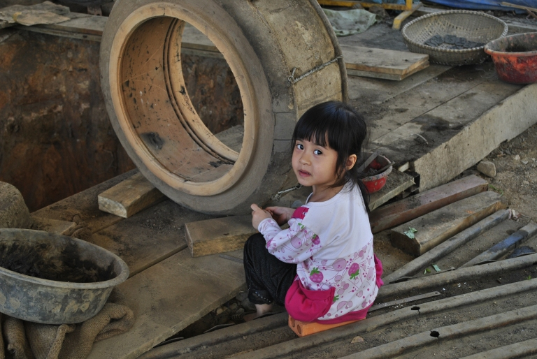 Dzieci ulicy. Wietnam. Foto: D. Jaworska