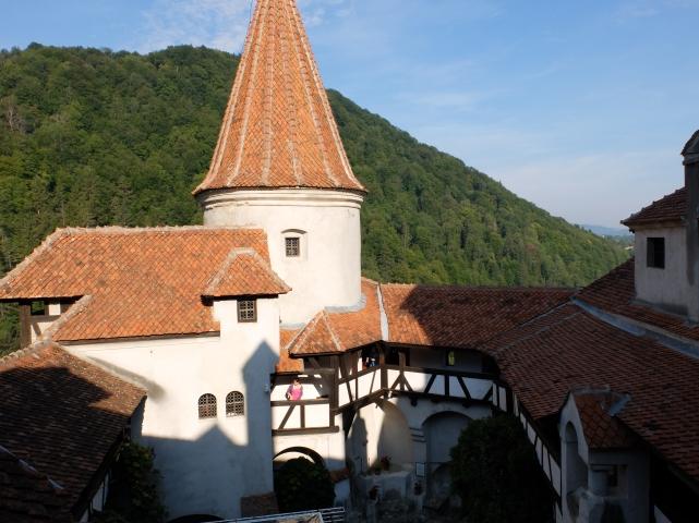 Zamek Bran. Transylwania. Rumunia Foto: D. Jaworska