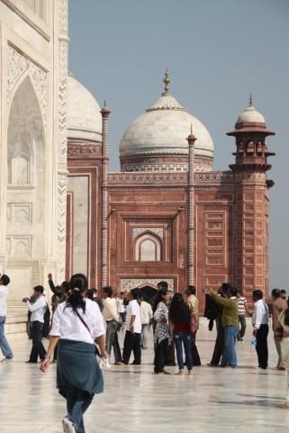 Taj Mahal. Indie. Foto: D. Jaworska